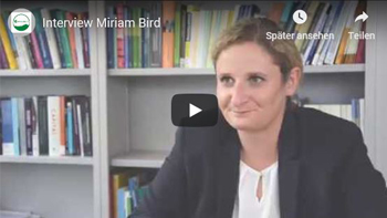 Video Interview mit Miriam Bird