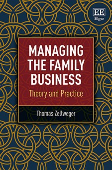 """Book cover """"Managing the family business"""""""
