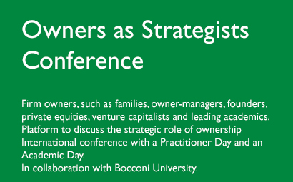 Owners as Strategists Conference